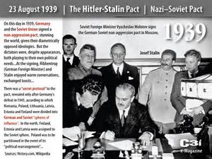 Soviet Non Aggression Pact Essay by 23 August 1939 Stalin Pact Soviet Non Aggression Pact 171 C3i Ops Center