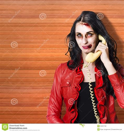 call centre worker cold calling on phone stock photography image 30337702
