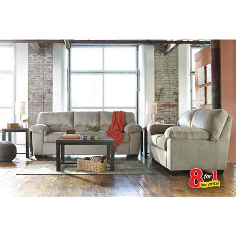 ashley furniture living room packages rent to own ashley 8 piece dailey living room group
