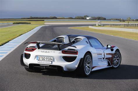 Porsche 918 Test by 2015 Porsche 918 Spyder Review Track Test Caradvice