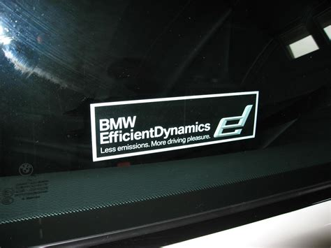 Bmw Aufkleber Mystic by Where Would I Get That Efficient Dynamics Decal