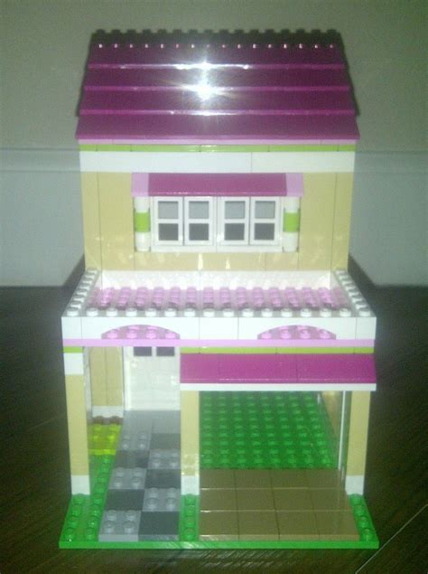 lego friends  olivias house custom garage addition ebay lego lego lego friends lego