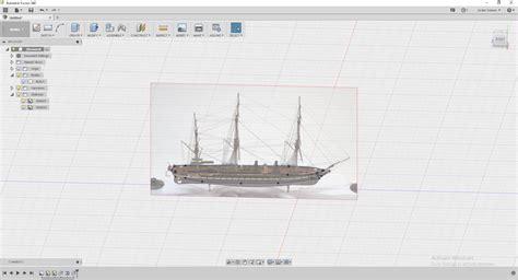 boat hull fusion 360 hms warrior hull model autodesk community