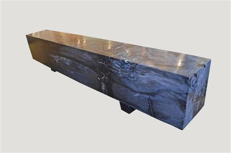 petrified wood bench petrified wood log bench at 1stdibs
