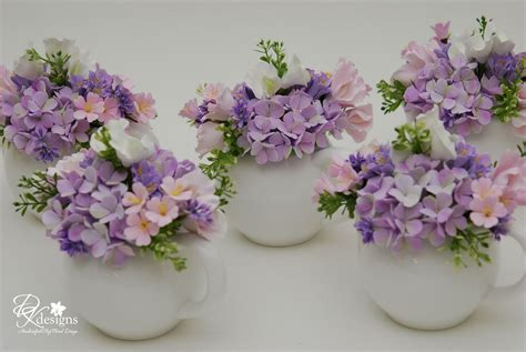 bridal shower tea centerpieces dk designs