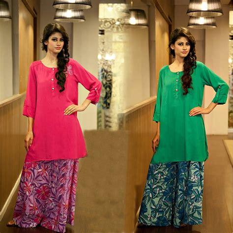 best shot kurta girls 2015 pk pakistani palazzo pants with long kurta shirts 2016
