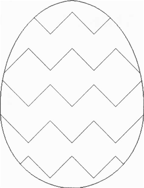 color pattern templates easter egg card template coloring pages