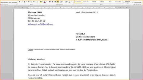 Exemple De Mise En Page De Cv by Exemple Mise En Page Lettre