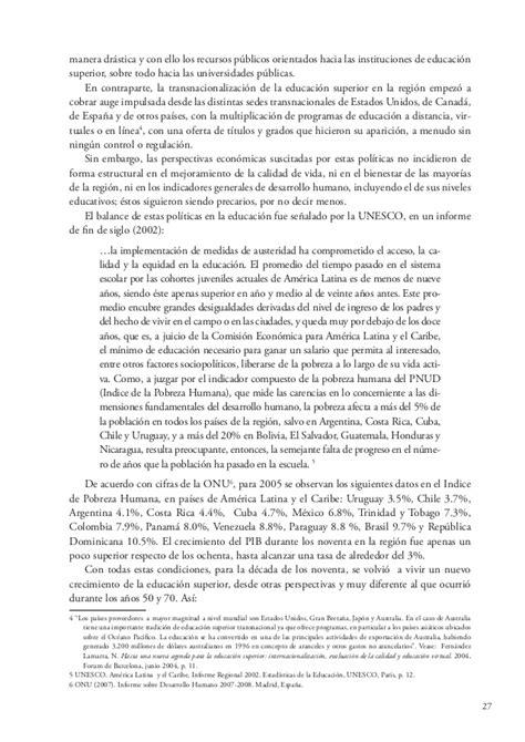 informe 2014 iesalcunesco en castellano libro tendencias espanol