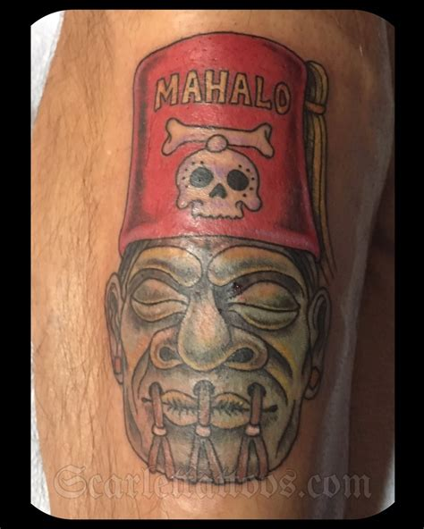 tiki tattoo nyc scarlet tattoos la nyc