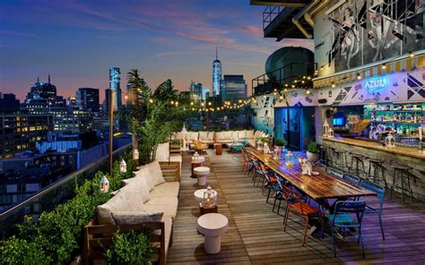 top roof bars in nyc the best rooftop bars in nyc wine4food