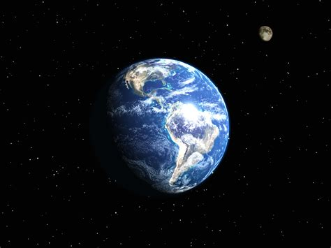3d Wallpaper Of Earth | cool photos 3d moon and earth wallpaper