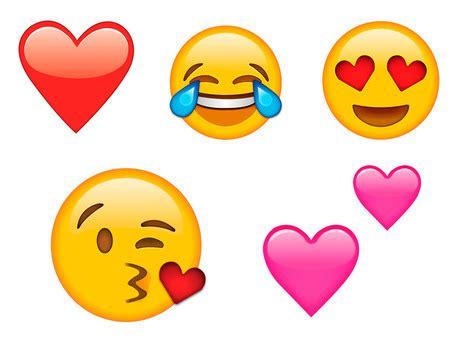 imagenes del emoji enamorado los emojis m 225 s utilizados