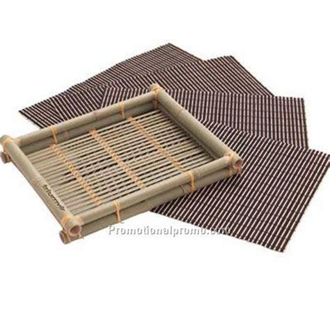 custom size desk mat bamboo mat set china wholesale ktb114987