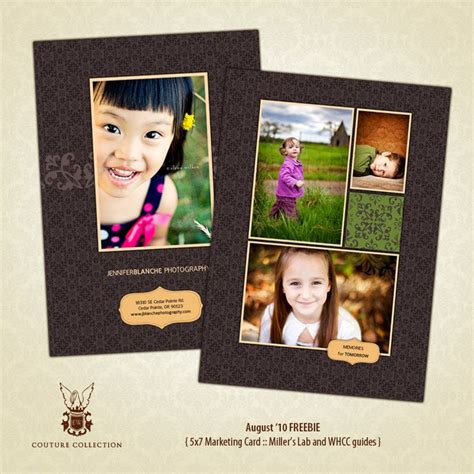 millers card template promo card template miller s lab and whcc