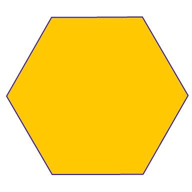 Hexagon Shape - hexagonal prism everything you need for the elementary