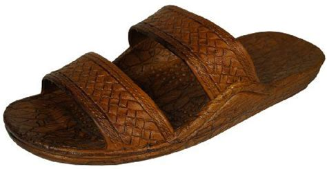 brown hawaiian sandals awesome brown hawaiian jesus sandal sandals