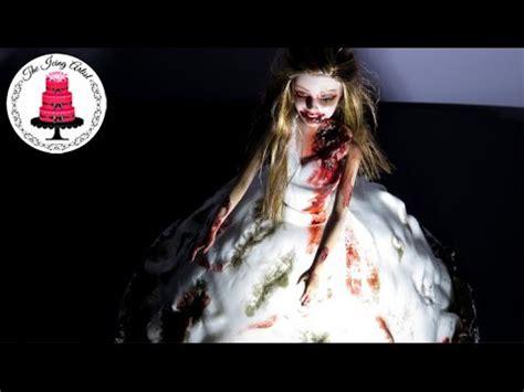 tutorial zombie the walking dead the walking dead zombie bride dress cake cakecentral com