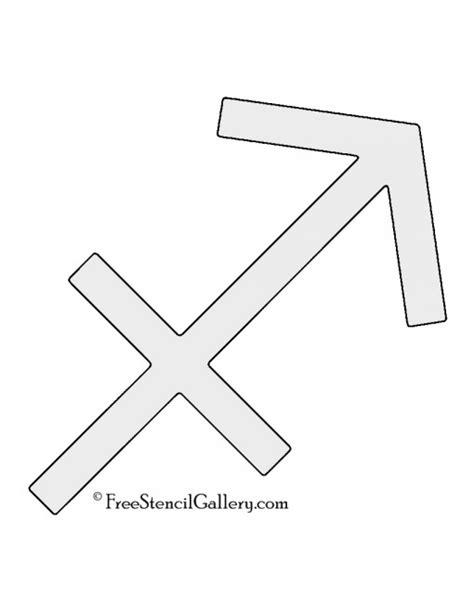 printable zodiac stencils zodiac sagittarius stencil free stencil gallery