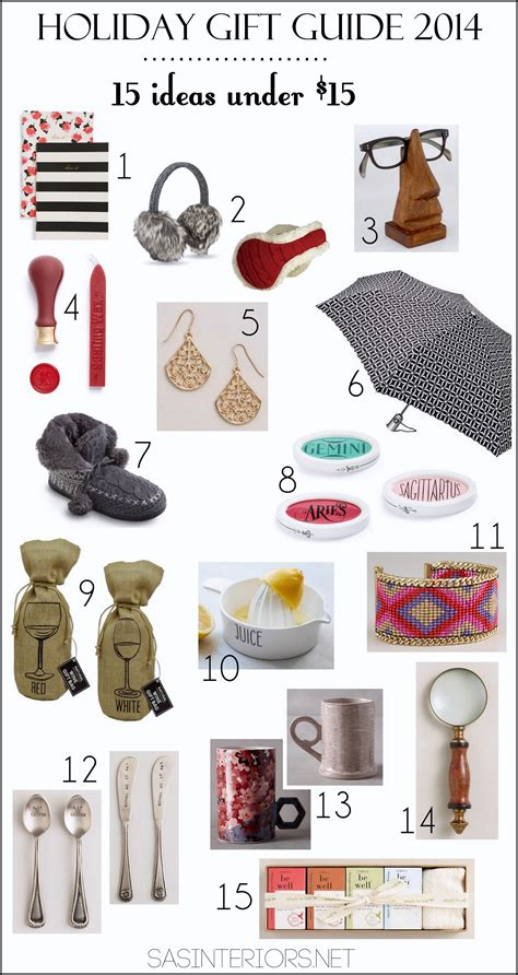 christmas exchange undee 15 gift guide 2014 15 ideas 15 burger