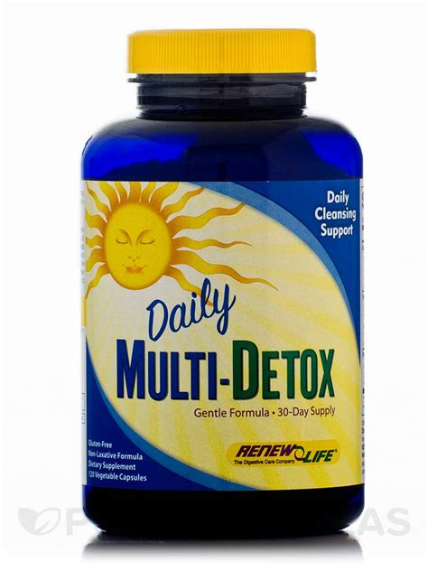 Renew Daily Detox by Daily Multi Detox 120 Vegetable Capsules
