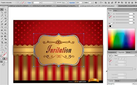Wedding Card Design In Coreldraw Tutorial by How To Design A Wedding Invitation Card In Coreldraw