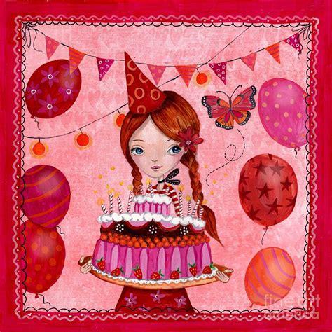 birthday painting birthday painting by caroline bonne muller