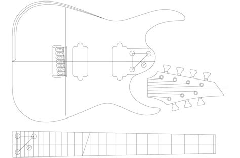 String Template - blackmachine b7 7 string template electric herald