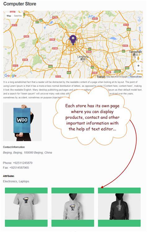 Free Store Finder Woocommerce Store Locator Maps Plugin