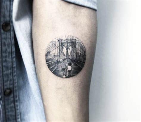 tattoo new york brooklyn brooklyn bridge tattoo by eva krbdk photo no 17431