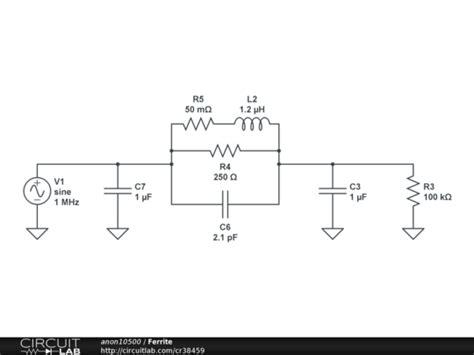 ferrite bead filter design ferrite bead pi filter circuitlab
