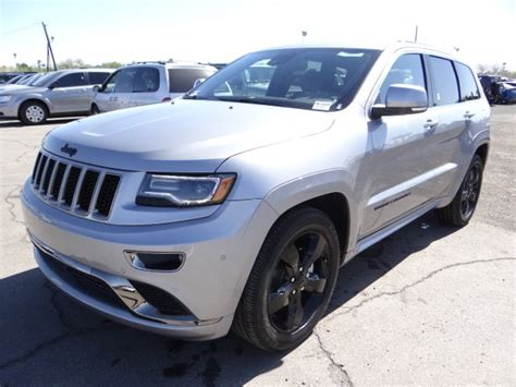 jeep silver 2016 2016 jeep grand cherokee high altitude for sale stock