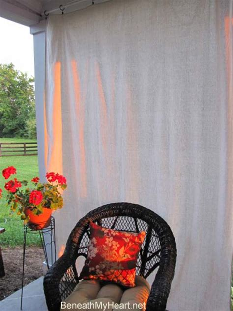make your own outdoor curtains make your own outdoor curtain panels