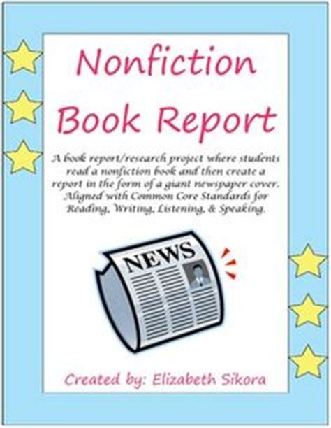 book report in a can book reports on biographies book report