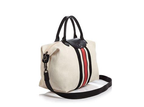 lyst longch ruban dor medium satchel in metallic