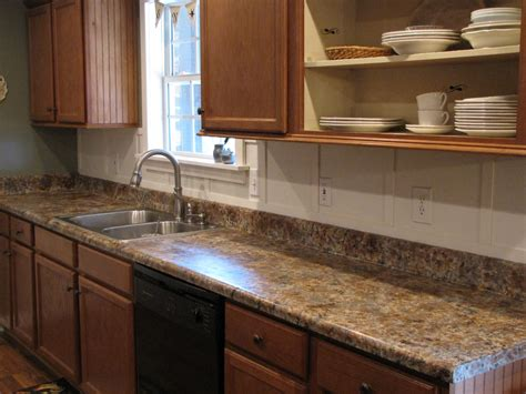 Painted Kitchen Countertops Painting Laminate Countertops In The Kitchen