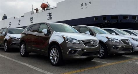 built buick envision packs bags for the us