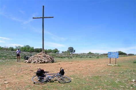 camino foto foto camino di santiago di compostela in bici