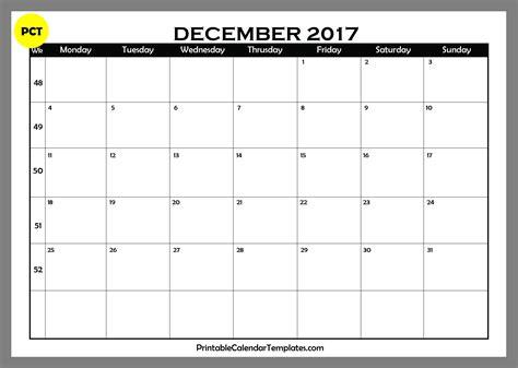 blank december calendar page free printable calendar templates 2016