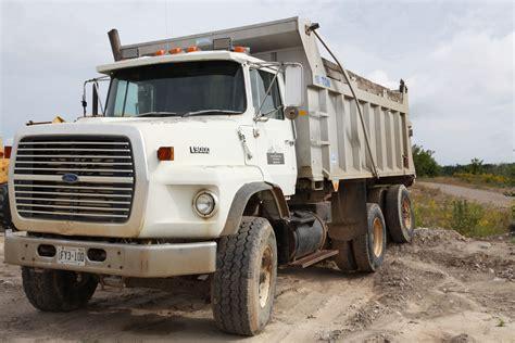 ford dump trucks dump truck ford l9000 white better2bu