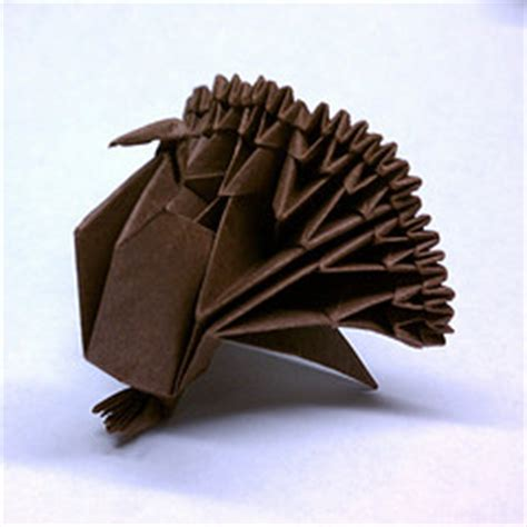 Origami Turkey Diagram - genuine origami jun maekawa