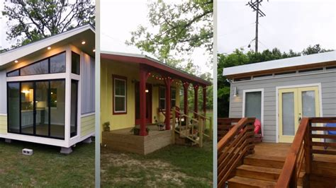 tiny house austin tx couple s three tiny cabin options which will they pick
