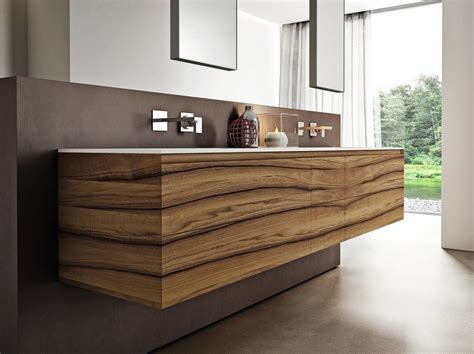 Walnut Bathroom Furniture Set Cubik N 176 01 A By Ideagroup Walnut Bathroom Furniture