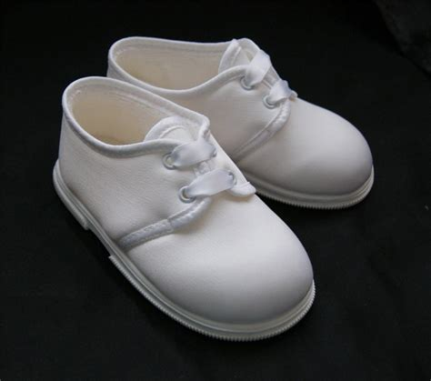 baby occasion shoes new baby boys white satin occasion christening shoes size