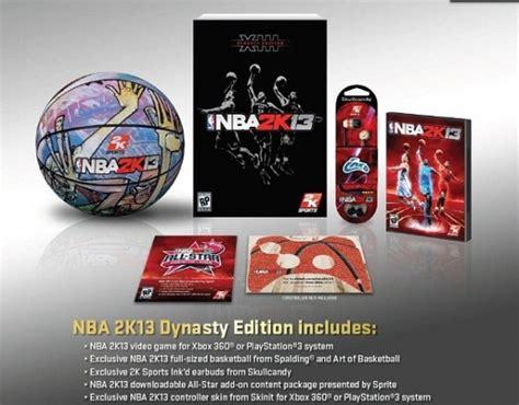 Limited Bola Basket Spalding Nba 2k sports announces nba 2k13 dynasty edition operation