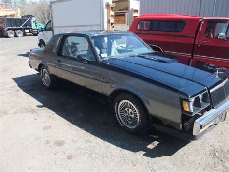manual cars for sale 1985 buick lesabre interior lighting 1985 buick regal t type 3 8 turbo designer grand national t top mint interior for sale in