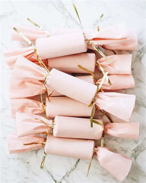 pink christmas crackers handmade pink crackers gifts n wrapping crackers pink