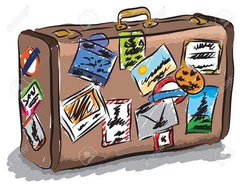 clipart viaggi travel clipart travel bag pencil and in color travel