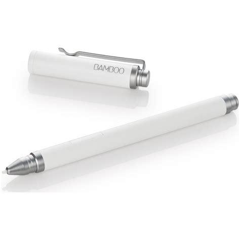Bamboo Pen Tablet Promises The Feel Of A Real Pen On Paper by Wacom Bamboo Stylus Feel Pen White Cs300uw B H Photo
