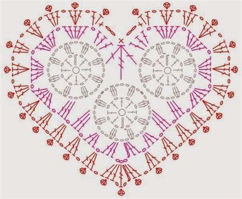 html pattern symbols free crochet patterns and video tutorials crochet hearts